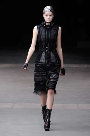 Alexander McQueen Paris autumn/winter 2011 collection in Paris in March