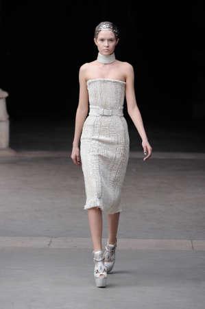 Alexander McQueen Paris autumnwinter 2011 collection in Paris in March