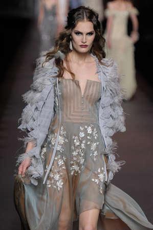 Dior Show in Paris autumnwinter 2011 collection in Paris in March
