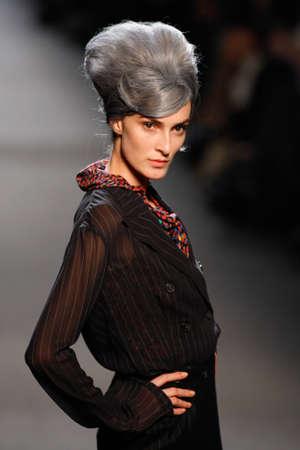 Jean Paul Gaultierin Paris autumnwinter 2011 collection in Paris in March