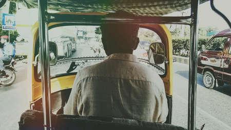 three wheeler: Rickshaw