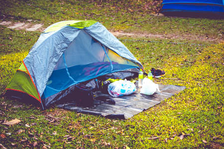 wade: Tent with other stuff.