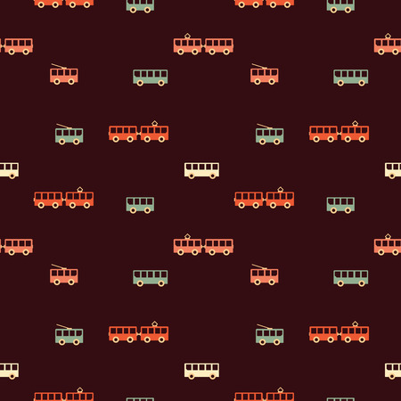 Amazing seamless vintage colorful texture. Vector