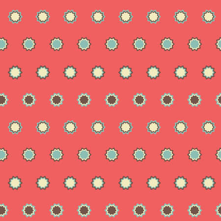 happyness: Amazing seamless vintage colorful texture.