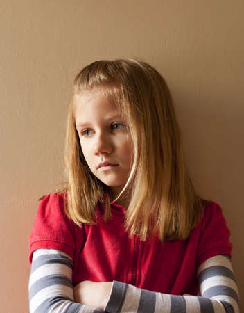 A bullied child Standard-Bild - 9504228