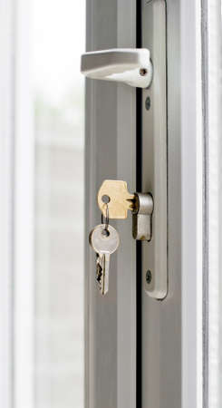 accommodate: home security Stock Photo