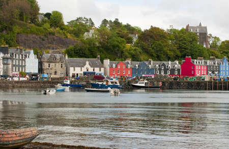 The harbour at Tobermory photo