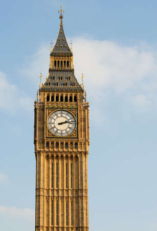 Big Ben at the Houses of Parliament photo