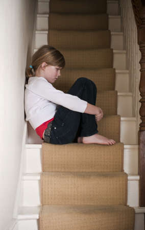Vernachlässigung von Kindern Standard-Bild - 13829358
