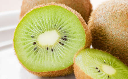 Fresh kiwi fruit Stock Photo - 13831927