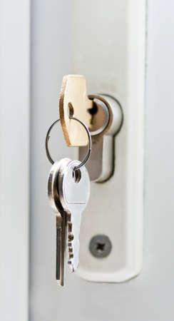 Tür-Sicherheit Standard-Bild
