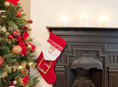 mantel: Christmas time is here