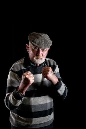 Tough old man