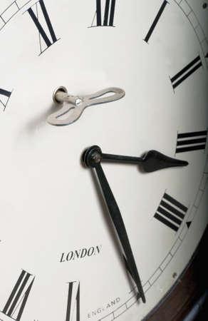 Vintage clock face photo