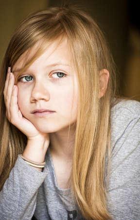 verdrietig meisje: Droevig meisje