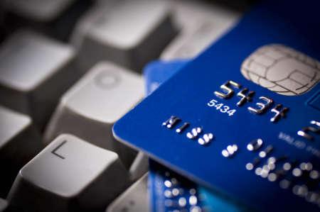 Kreditkarte Standard-Bild - 16710271