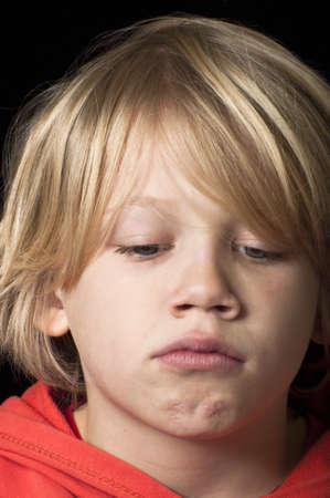 niño llorando: Malestar niño Foto de archivo