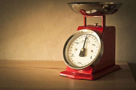 red gram: Antique kitchen scales
