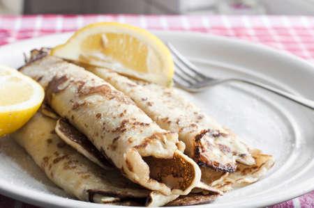 pancakes: Pancake day Stock Photo