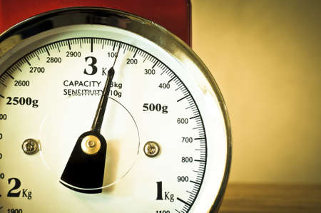 kitchen scale: Retro weighing scales