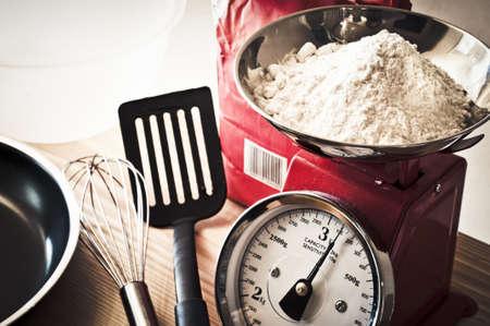 kitchen scale: Baking