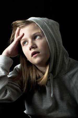 Worried child Stock Photo - 18299595