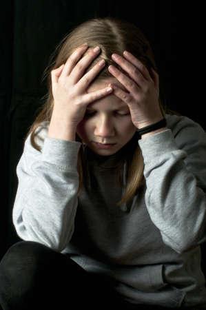 Victim of bullying Stock Photo - 18299593