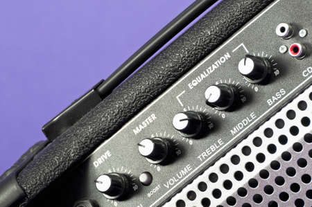 amps: Guitar amp Stock Photo
