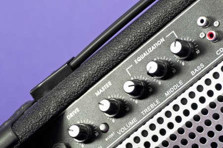 amp: Guitar amp Stock Photo