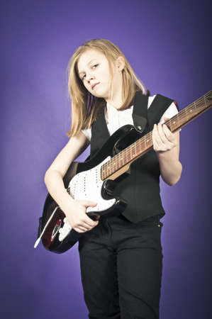 Young musician Stock Photo - 18456555