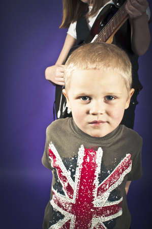 brit: Brit pop Stock Photo