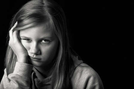 Depressed teenager Stock Photo - 18693167