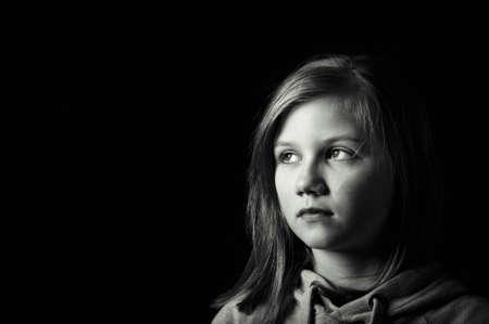 Worried child Stock Photo - 18693154
