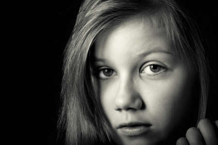 Sad child Stock Photo - 18693156