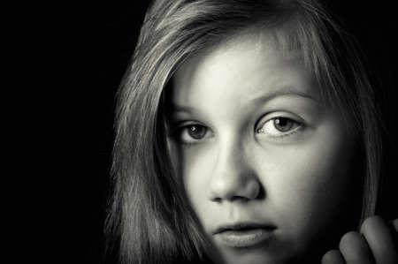 Sad child Stock Photo