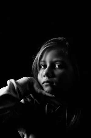 Victim of child abuse Stock Photo - 18693155