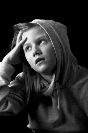 Worried child Stock Photo - 18693158