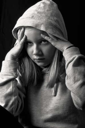 Depressed child Stock Photo - 18693163