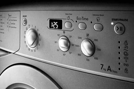 Waschmaschine Standard-Bild