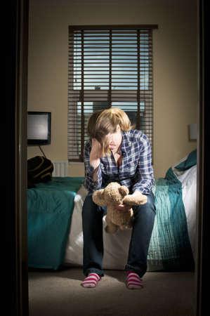 Tod eines Kindes Standard-Bild