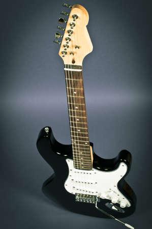 Retro guitar photo
