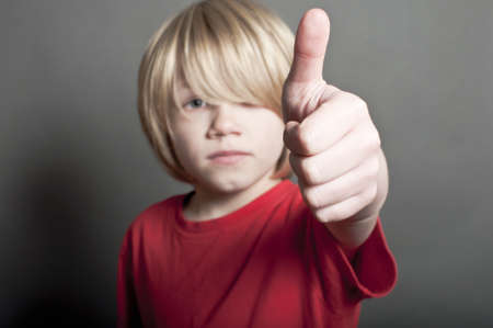 cool dude: Cool dude thumbs up Stock Photo