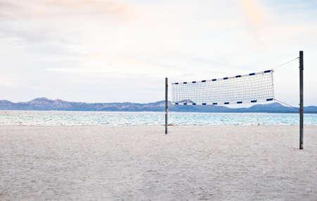 arbre: Beach volleyball Stock Photo