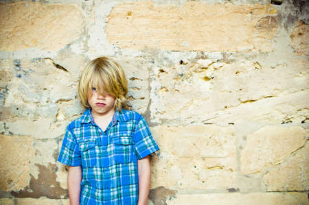 homeless children: Bullied child