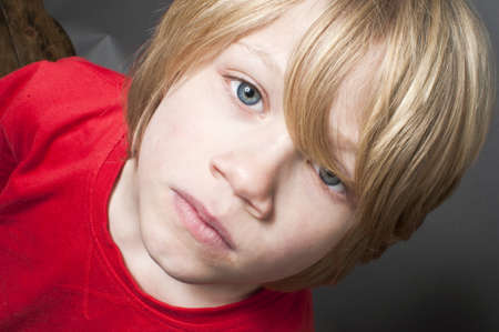 Frightened child Stock Photo - 20895175