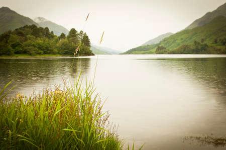 loch: Loch shiel in scotland Stock Photo