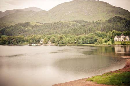 loch: Loch shiel Stock Photo