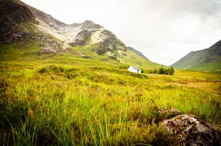 blackrock: Scottish highlands Stock Photo