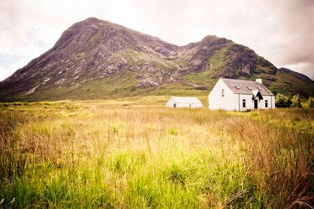 blackrock: Scottish crofters cottage