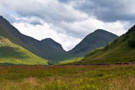 Scottish mountains Stock Photo - 22647508